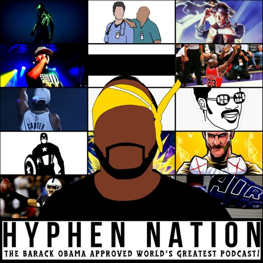Cover art for podcast Hyphen Nation