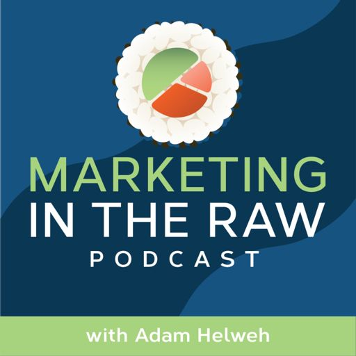 Cover art for podcast Marketing in the Raw with Adam Helweh