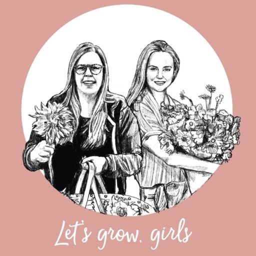 Cover art for podcast Growing Cut Flowers