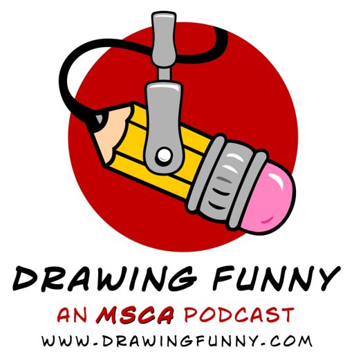 Cover art for podcast Drawing Funny