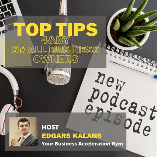 Cover art for podcast Your Business Acceleration Gym