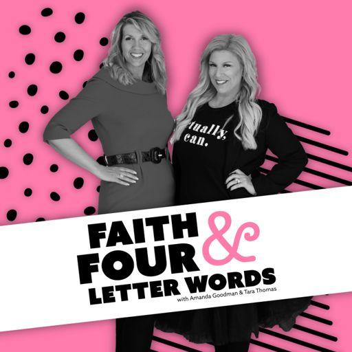 Cover art for podcast Faith & Four Letter Words