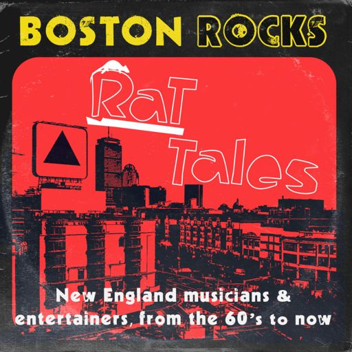 Cover art for podcast Rat Tales - Boston Rock Stories