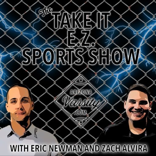 Cover art for podcast Take It E.Z. Sports Show