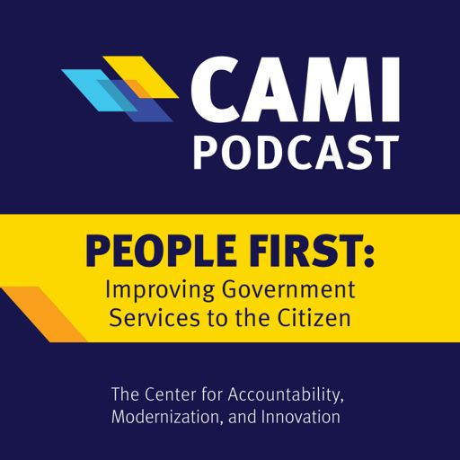 Cover art for podcast People First: Improving Government Services to the Citizen