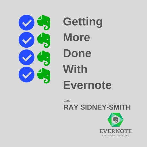 Cover art for podcast Getting More Done With Evernote