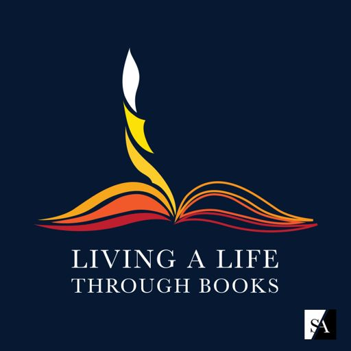 Cover art for podcast Living A Life Through Books
