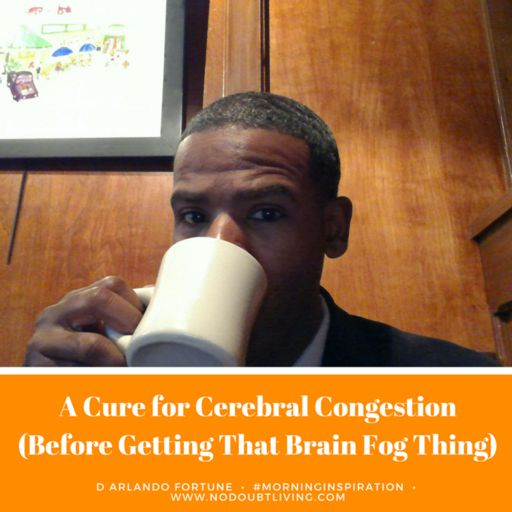 A Cure for Cerebral Congestion (Before Getting That Brain Fog Thing