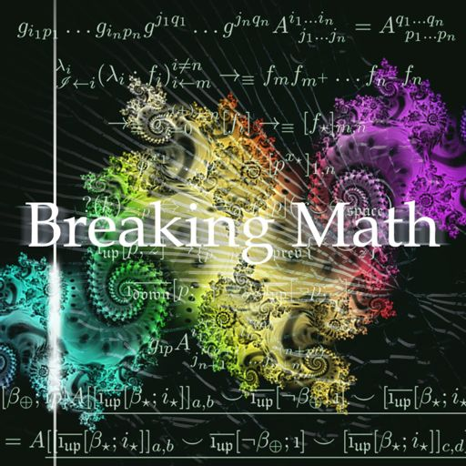 Cover art for podcast Breaking Math Podcast
