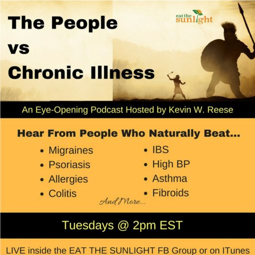 Cover art for podcast THE PEOPLE vs CHRONIC ILLNESS