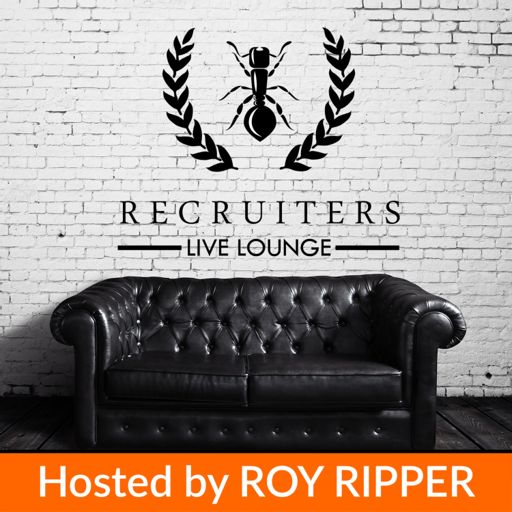 Cover art for podcast Recruiters Live Lounge | Get Inspired! | Weekly Interviews with the best Recruitment Business Leader