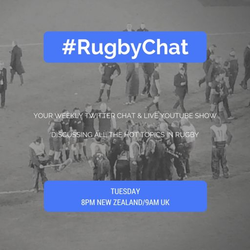 Cover art for podcast #RugbyChat