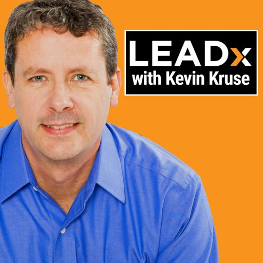 Cover art for podcast The LEADx Leadership Show with Kevin Kruse