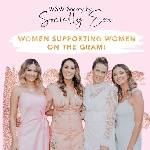 Cover art for podcast Women Supporting Women on the Gram by SociallyEm