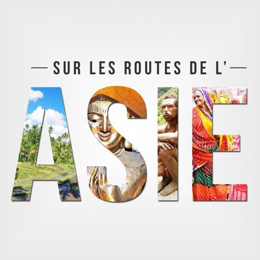 Cover art for podcast Sur les routes de l'Asie
