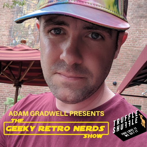 Cover art for podcast Geeky Retro Nerds Show - Pop Culture Podcast