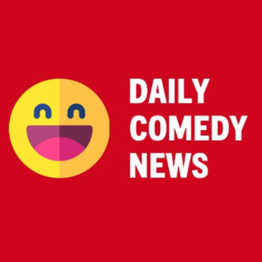 Cover art for podcast Daily Comedy News: a podcast about comedians