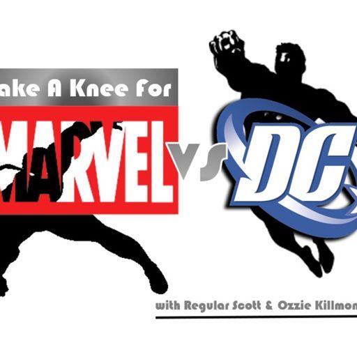 Cover art for podcast Take A Knee For Marvel Vs DC
