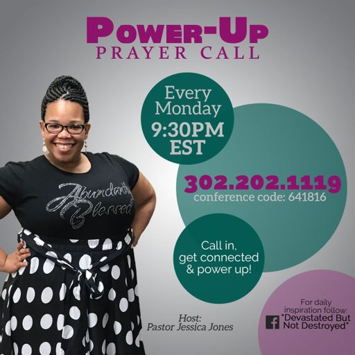 Cover art for podcast Power-Up Prayer Call