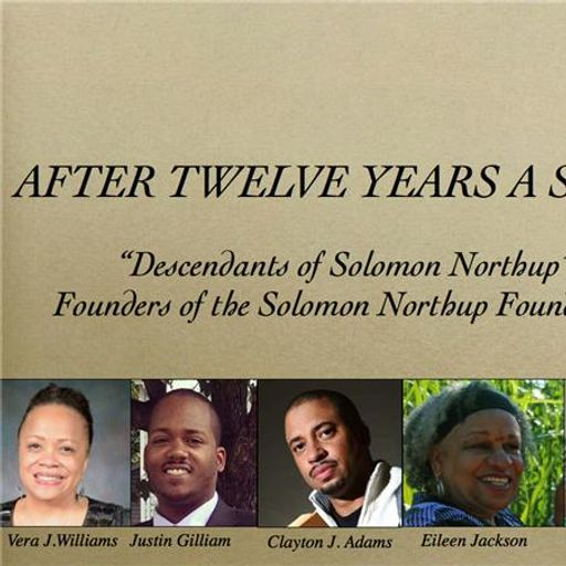 After Twelve Years A Slave with the Descendants of Solomon