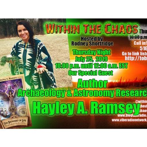 Within The Chaos Special Guests Jennifer Woodward Proffitt