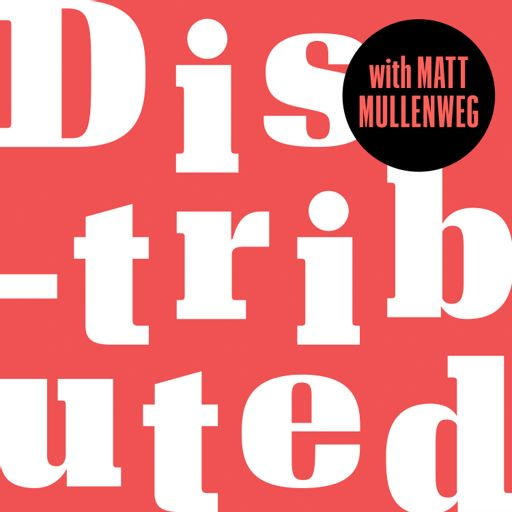 Cover art for podcast Distributed, with Matt Mullenweg