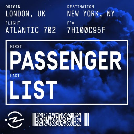 Cover art for podcast Passenger List
