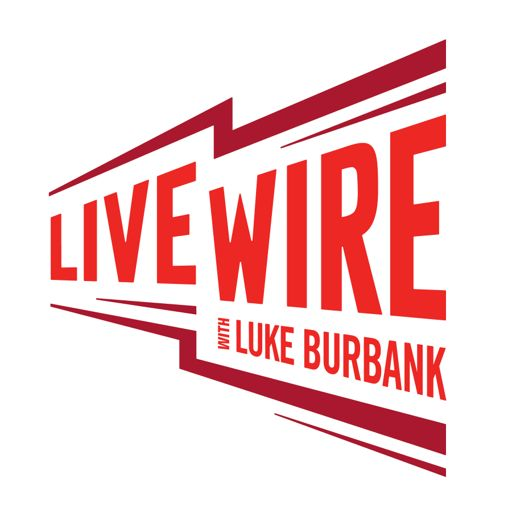 Cover art for podcast Live Wire with Luke Burbank