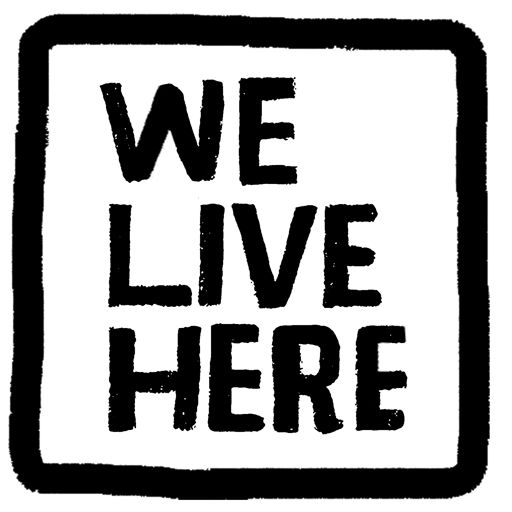 Cover art for podcast We Live Here