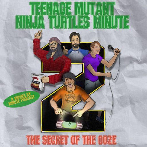 Cover art for podcast Teenage Mutant Ninja Turtles Minute