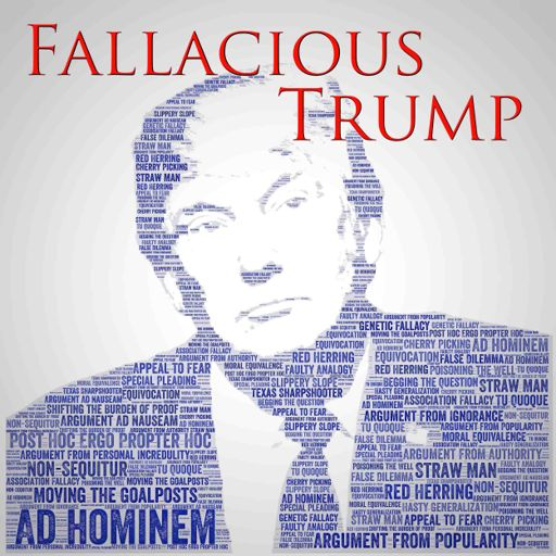 Cover art for podcast Fallacious Trump