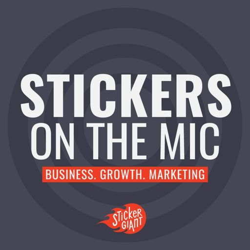 Cover art for podcast Stickers on the Mic Podcast