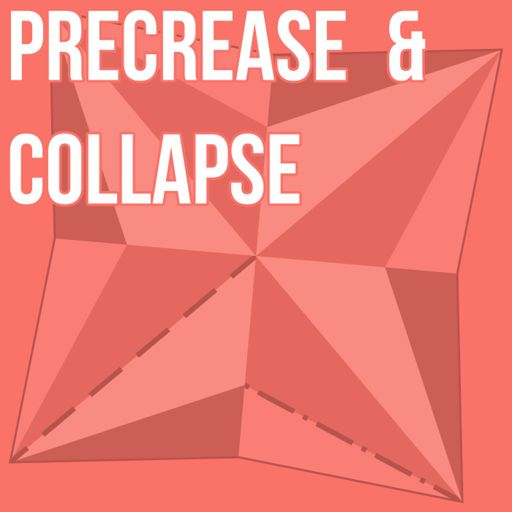 Cover art for podcast Precrease & Collapse, an origami podcast