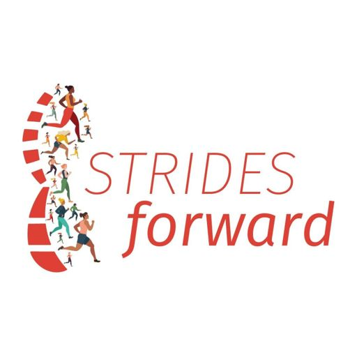 Cover art for podcast Strides Forward: Stories of Female Marathon and Ultramarathon Runners
