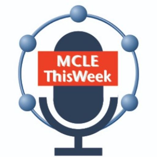 Cover art for podcast MCLE ThisWeek Podcast