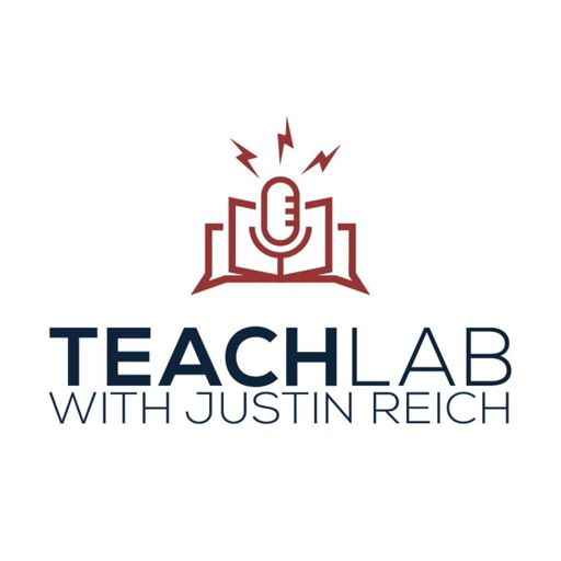 Cover art for podcast TeachLab with Justin Reich