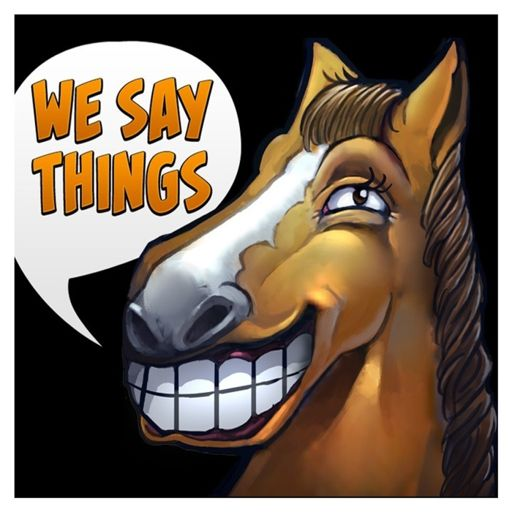 Cover art for podcast We Say Things - an esports and Dota podcast with SUNSfan & syndereN