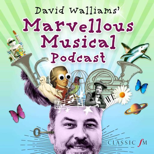 Cover art for podcast David Walliams' Marvellous Musical Podcast