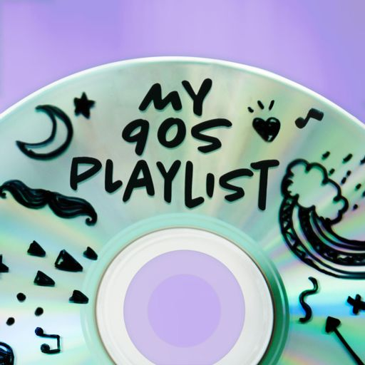 Cover art for podcast My 90s Playlist
