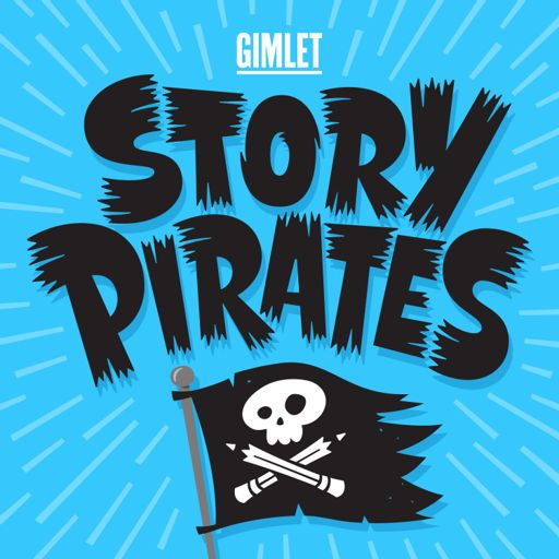 Cover art for podcast Story Pirates