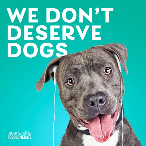 Cover art for podcast We Don't Deserve Dogs
