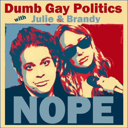 Cover art for podcast Dumb Gay Politics