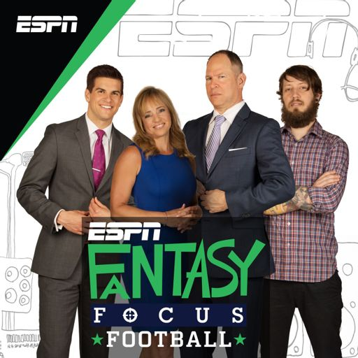 Cover art for podcast Fantasy Focus Football