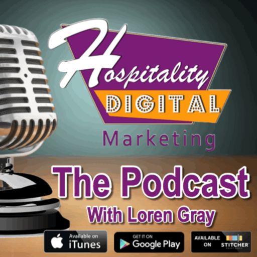 Cover art for podcast Hospitality Marketing
