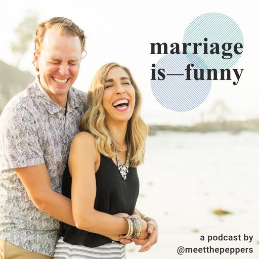 Cover art for podcast Marriage Is Funny