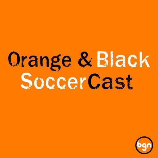 Cover art for podcast Orange & Black SoccerCast