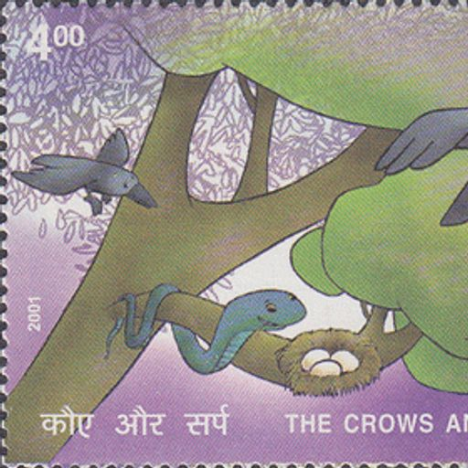 Kauva Aur Saanp Panchatantra Story in Hindi from Baalgatha