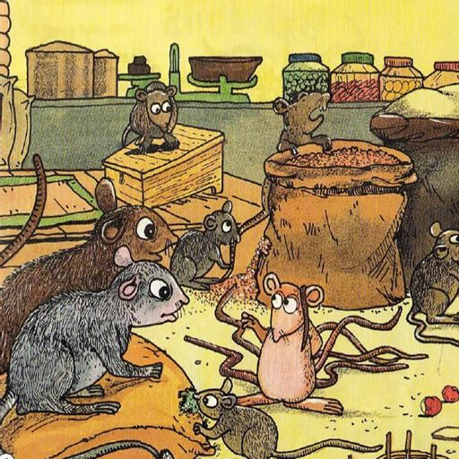 Saat Poochon Wala Chooha (Panchatantra Story in Hindi) from