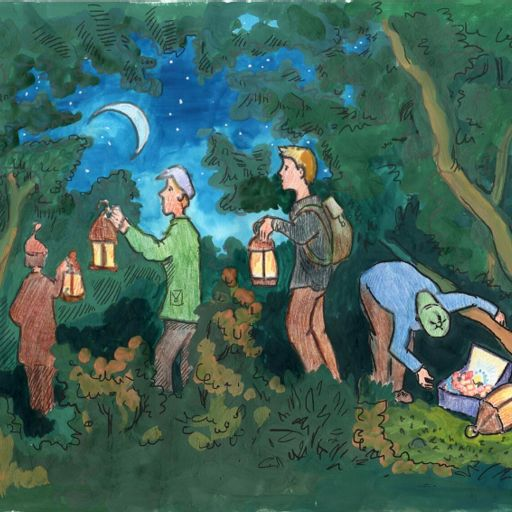 Four Treasure Seekers Panchatantra Story from Baalgatha: Classic