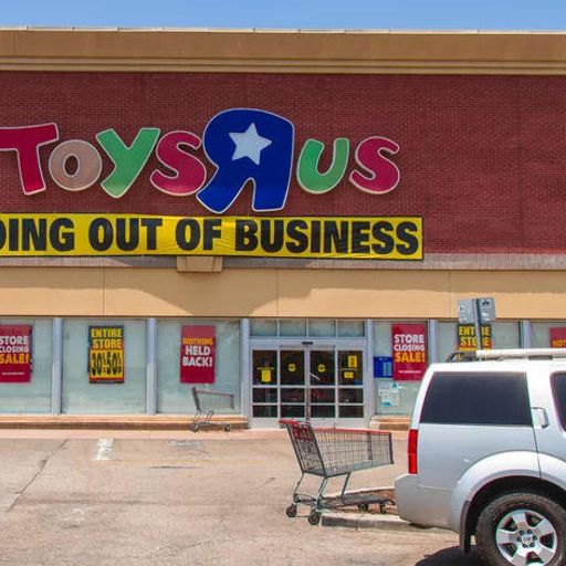 Toys r Us closings from Kevin Hilley on RadioPublic